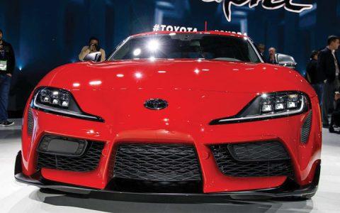 Экстерьер Toyota Supra 2020