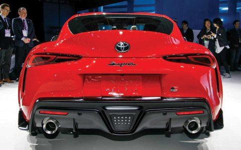 Новая Toyota Supra 2020