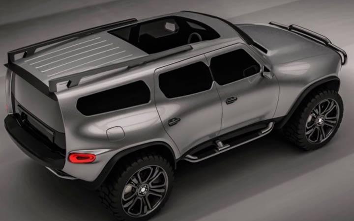 Новый УАЗ 3170 рендер модели 2020 года