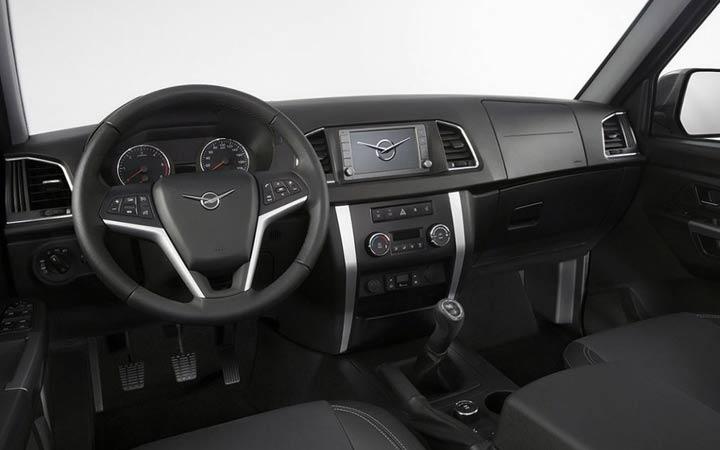 Интерьер УАЗ 3170 2020