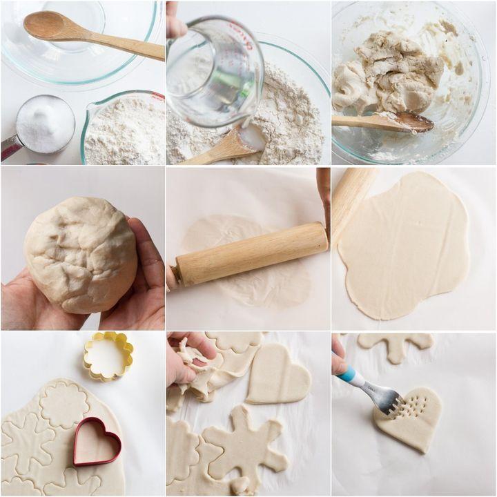Новогодние изделия из соленого теста или глины