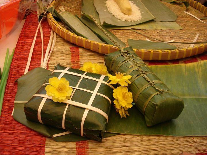 Еда на Вьетнамский Новый год
