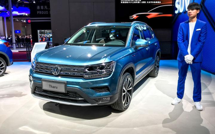 Volkswagen Tharu (Tarek) 2020 для России
