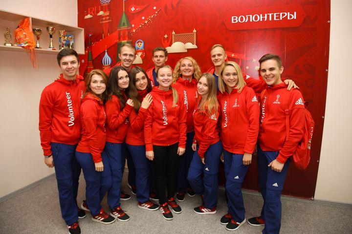 Волонтеры в Нижнем Новгороде