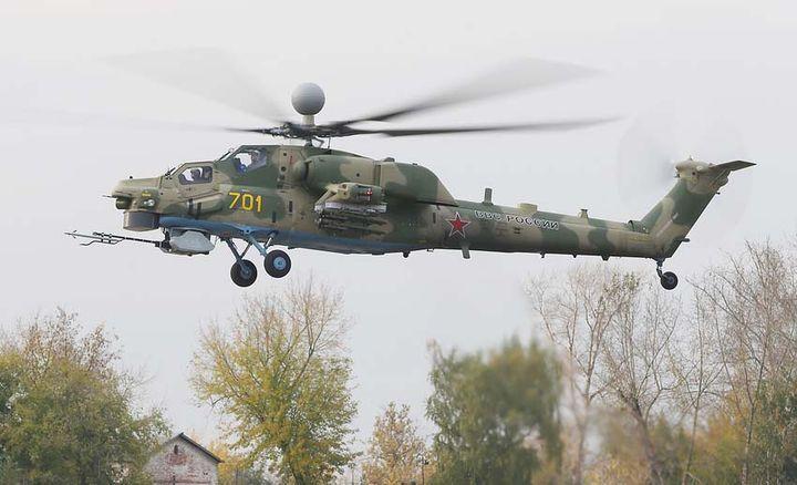 Всепогодный ударный вертолет Ми-28НМ