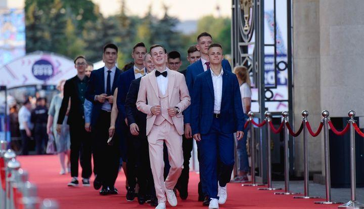 Выпускники в Москве