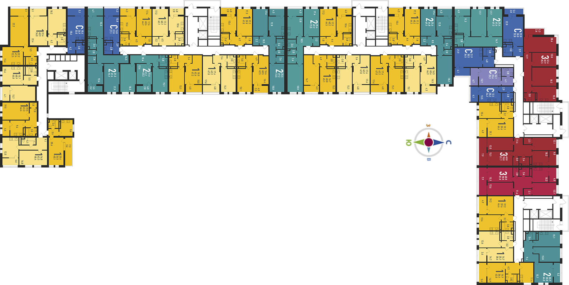 Планировки квартир в ЖК Ивантеевка 2020