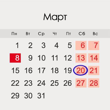 День счастья 20 марта 2021 года