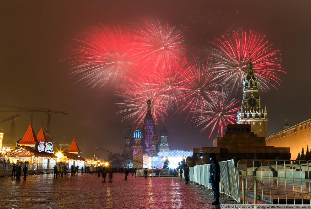 Что таит в себе новогодняя ночь на Красной площади фото