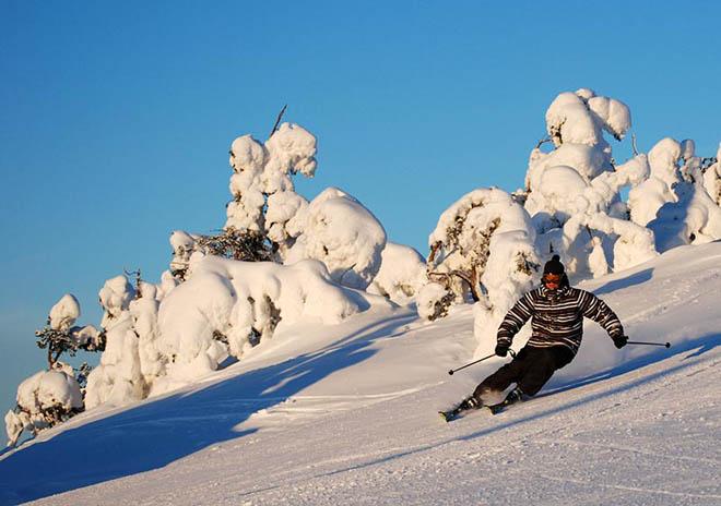 Где в Финляндии прокатиться на лыжах фото