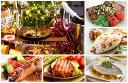 Горячие блюда на Новый год видео фото
