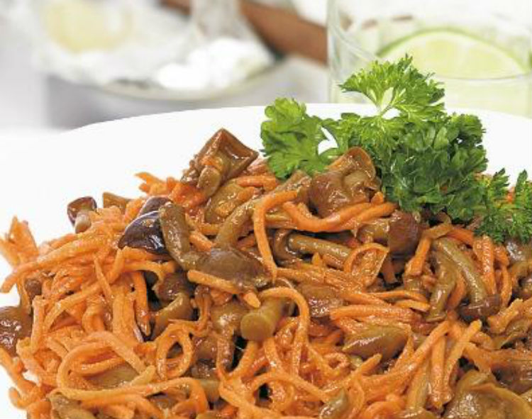 Грибная «Морковка» фото