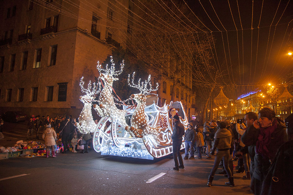 Как можно провести Новый год в Тбилиси фото