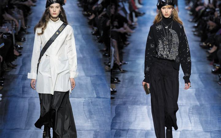 Коллекция Диор зима-весна 2019 года показ мод фото