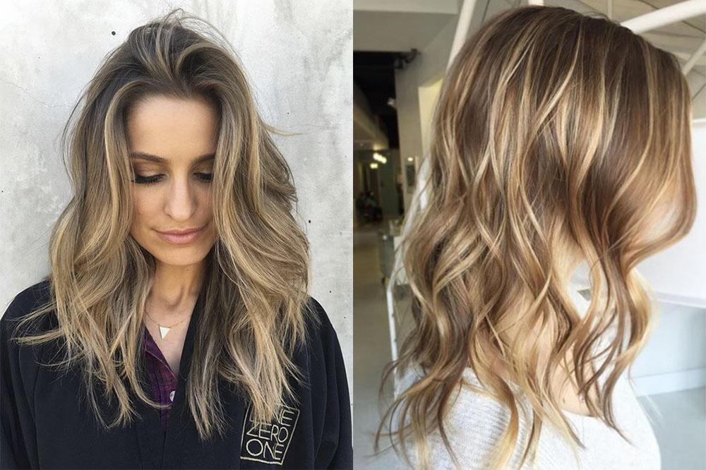 Мелирование волос в 2019 году модные цвета и виды фото