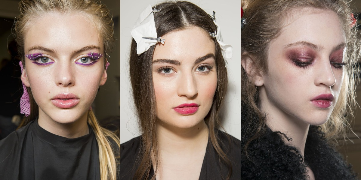 Модный макияж зима весна 2019 года фото