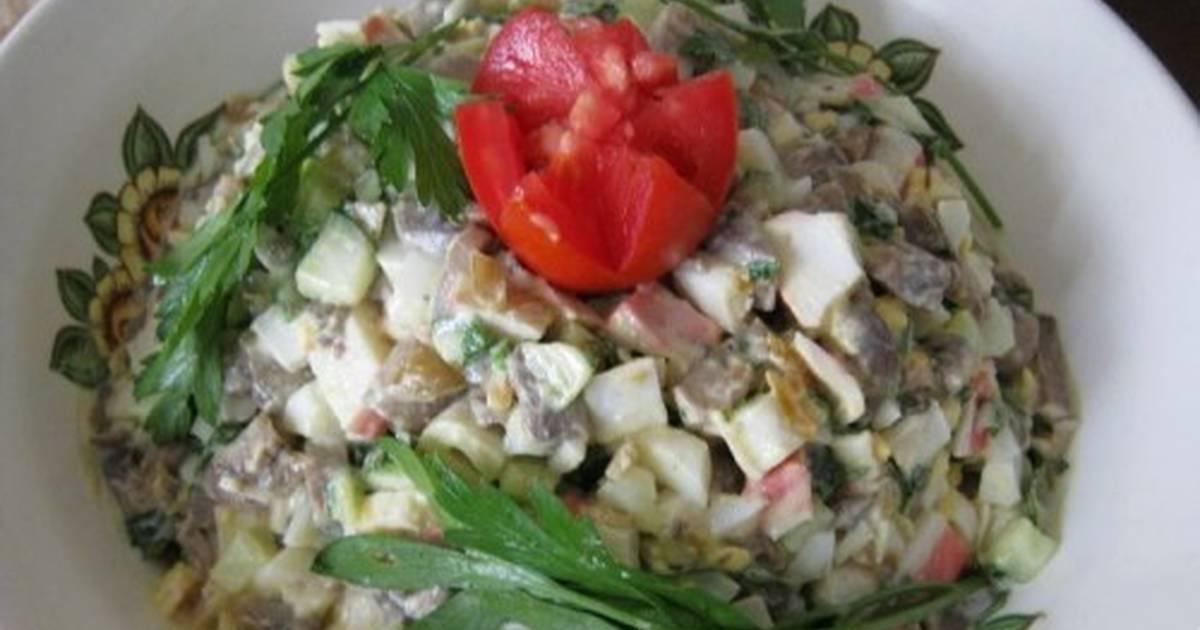 Нежный салат «Алёнка» фото