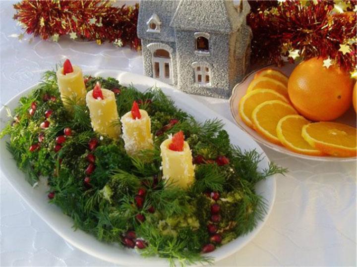 Новогодние блюда фото