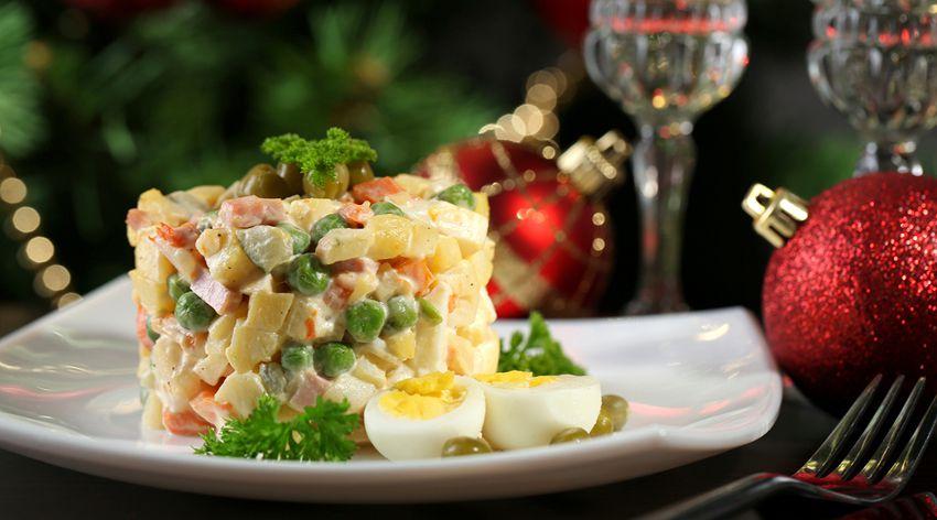 Новые рецепты салатов на Новый 2019 год фото
