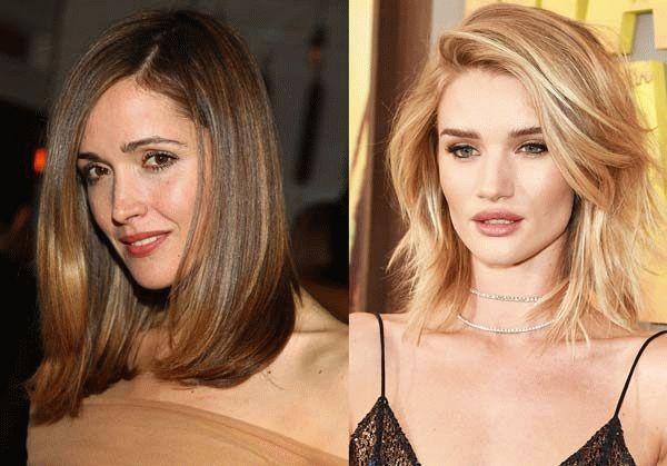 Особенности стрижек каре и боб для средних волос фото