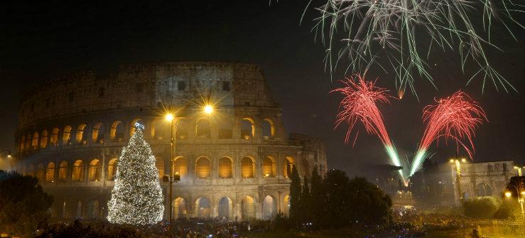Ценыв Риме на Новый год фото