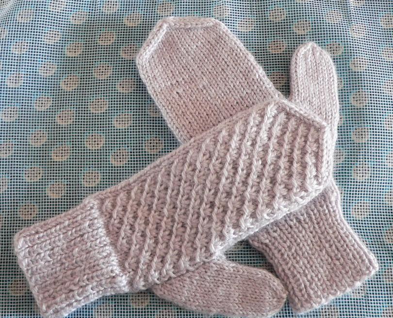 Вязание рукавиц фото