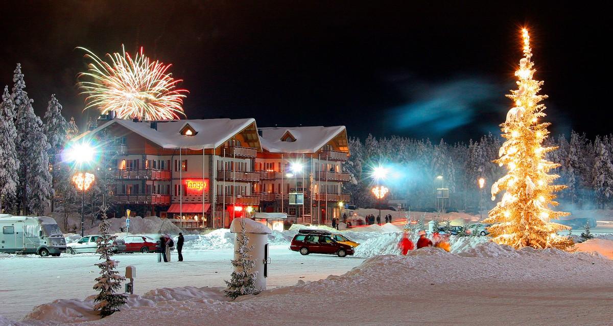 Зимний отдых в Финляндии фото