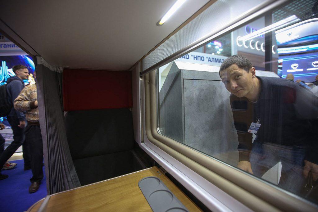 Фото внутри нового плацкартного вагона РЖД