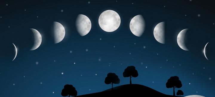 Лунный цикл в июле фото