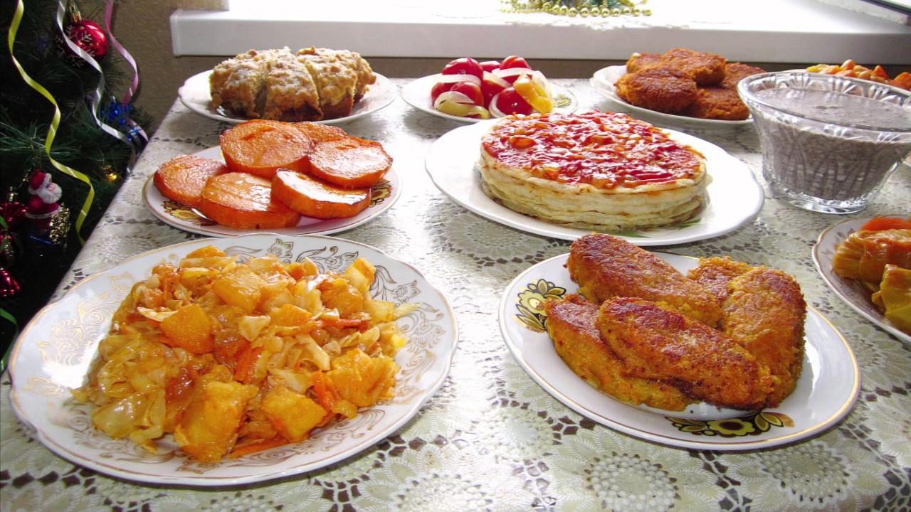 Основные блюда на стол фото