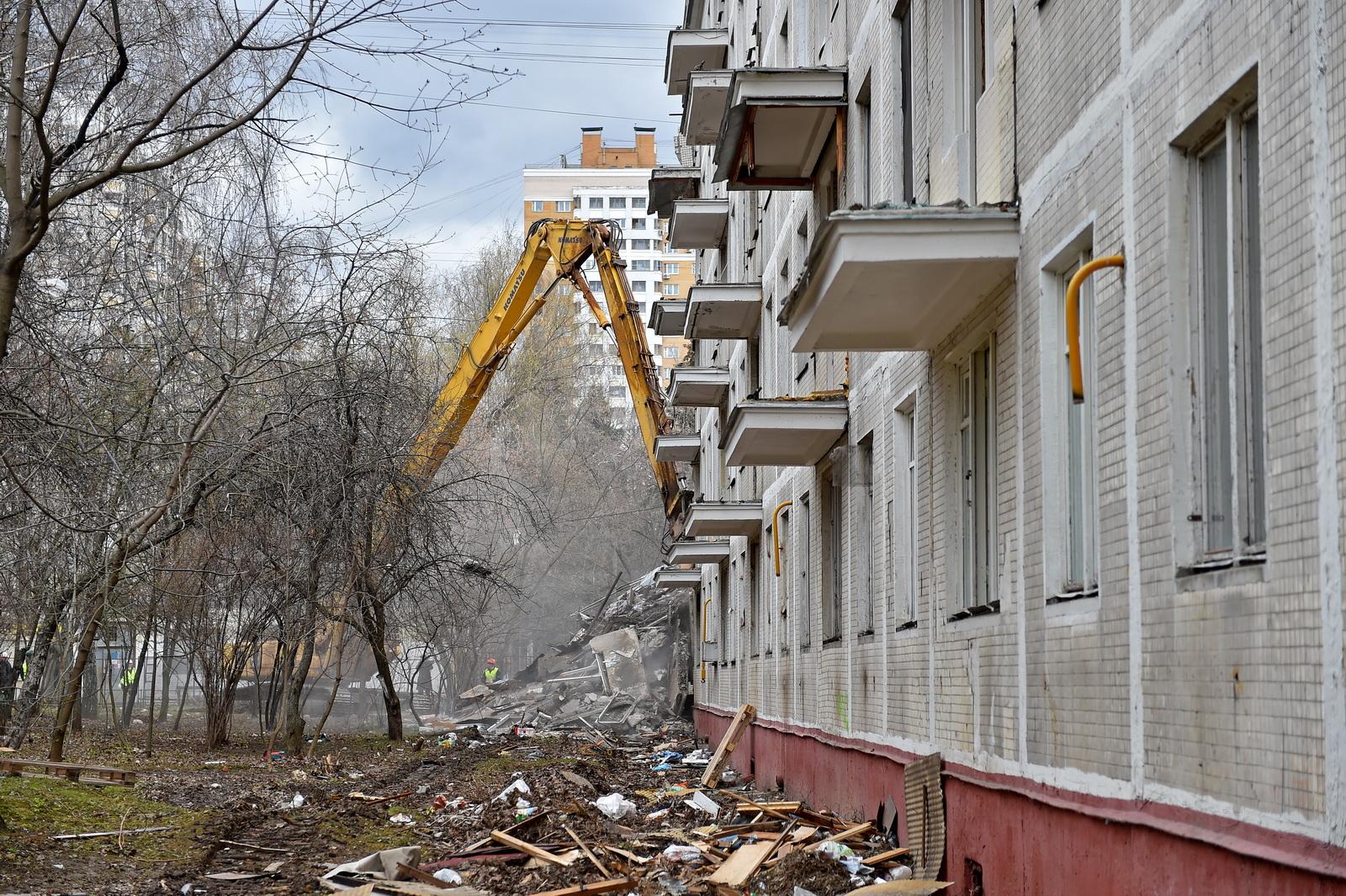 План сноса пятиэтажек в Москве в 2020-2021 году фото
