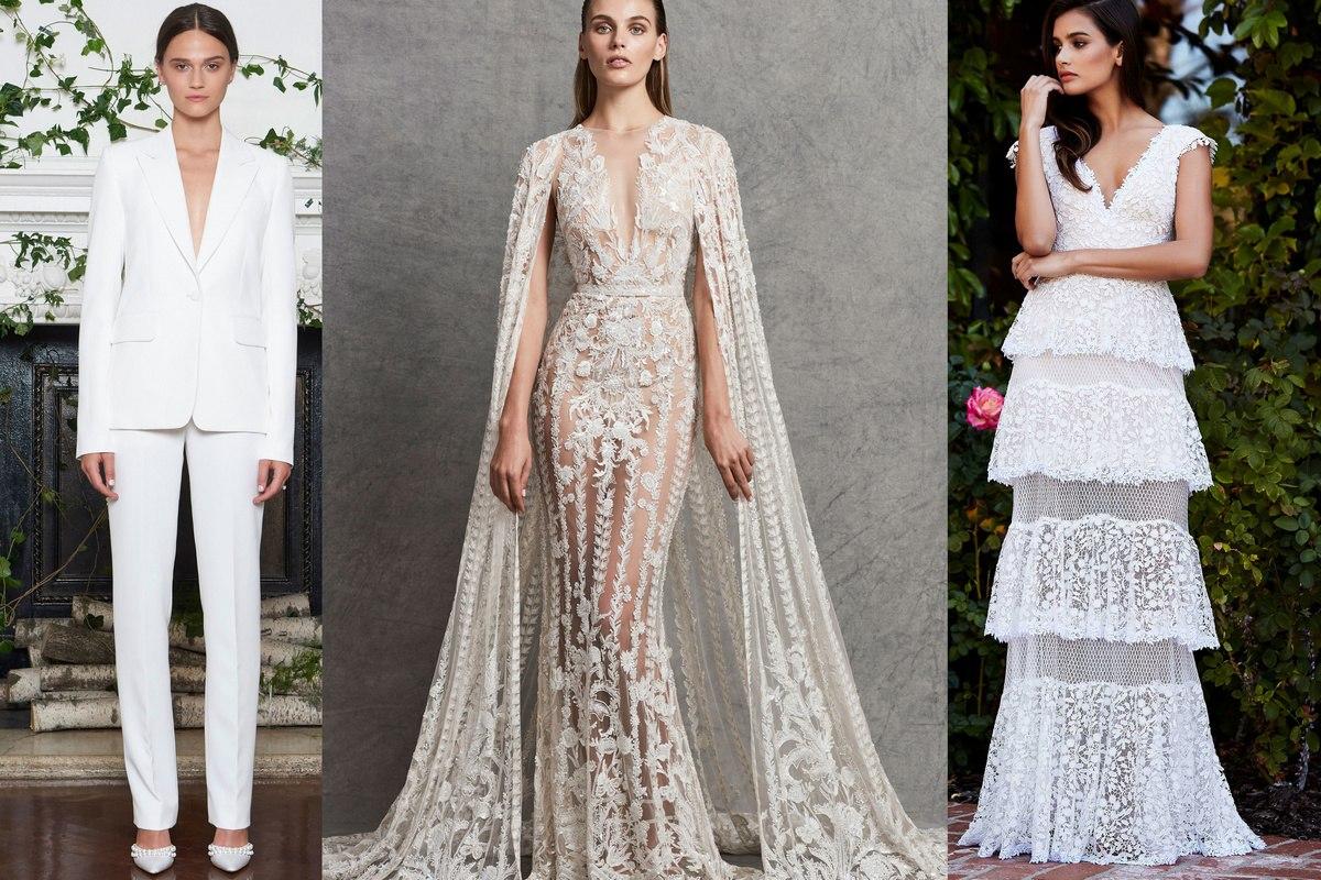 Свадебные платья в 2019 году фото