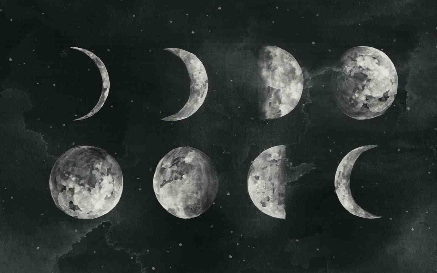 Влияние Луны фото