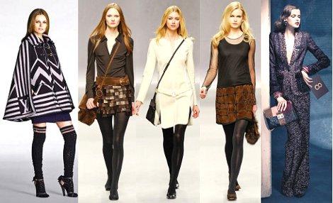 Мода осень-зима 2020-18 основные тенденции фото-видео